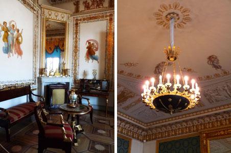 Экскурсия по интерьерам Елагиноостровского дворца